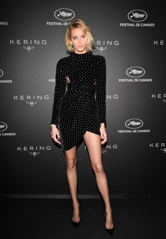 Anja Rubik – Kering Women in Motion Awards at Cannes Film Festival