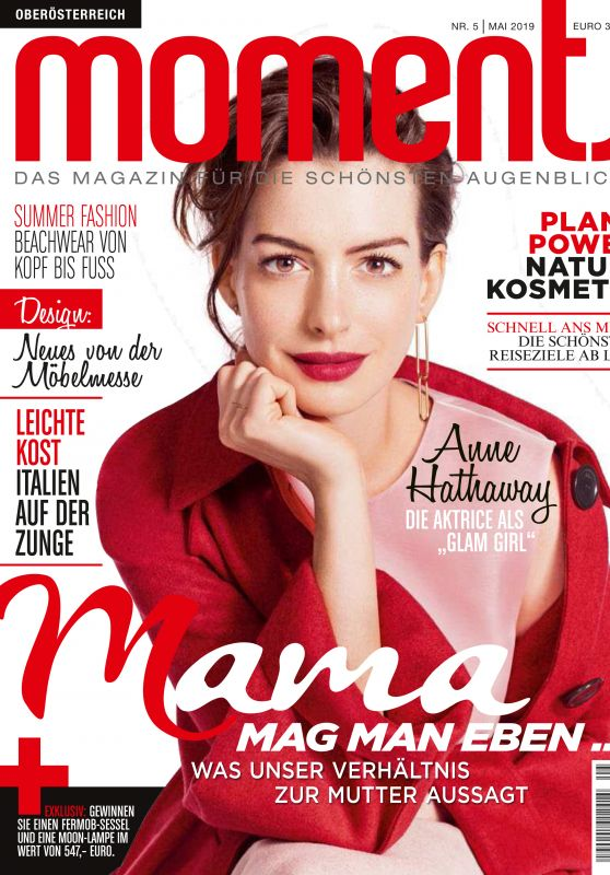Anne Hathaway - Moments Magazine Austria May 2019 Issue