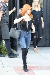 Ariel Winter Debuts New Fiery Red Hair Color 05/03/2019