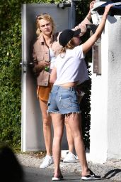 Ashley Benson and Cara Delevingne - Shopping in Hollywood 05/28/2019
