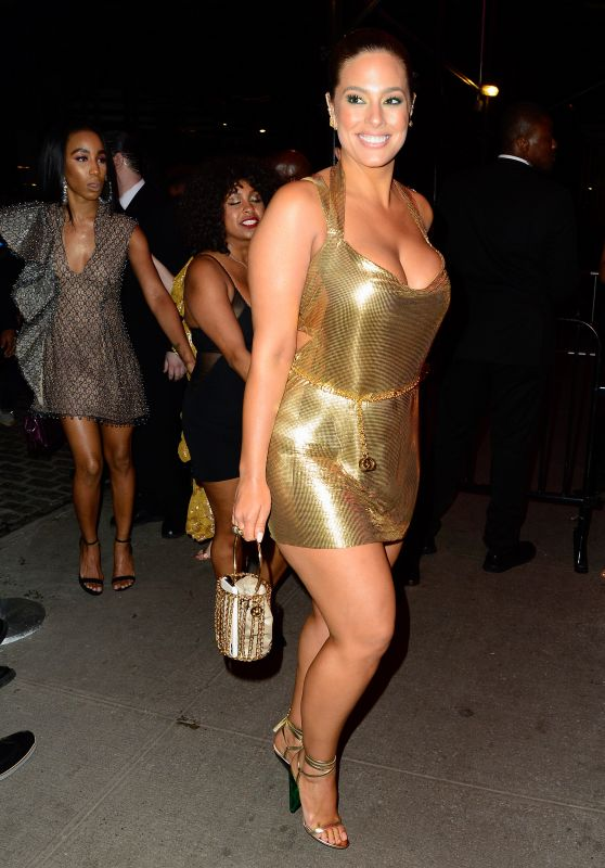 Ashley Graham - Arriving at the Met Gala Afterparty 05/06/2019