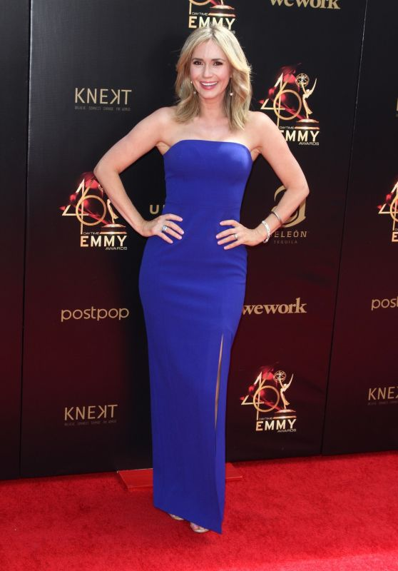 Ashley Jones – 2019 Daytime Emmy Awards in Pasadena