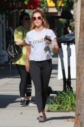 Ashley Tisdale - Leaving Training Mate in Studio City 05/29/2019