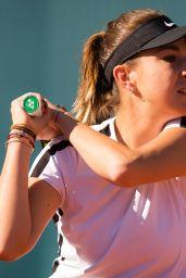 Belinda Bencic – Practises During Mutua Madrid Open Tennis Tournament 05/05/2019