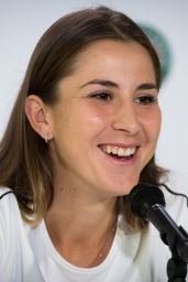 Belinda Bencic – Talks to the Press Ahead of the Roland Garros in Paris 05/24/2019