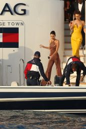 Bella Hadid and Kendall Jenner - Tommy Hilfigers Yacht in Monaco 05/25/2019