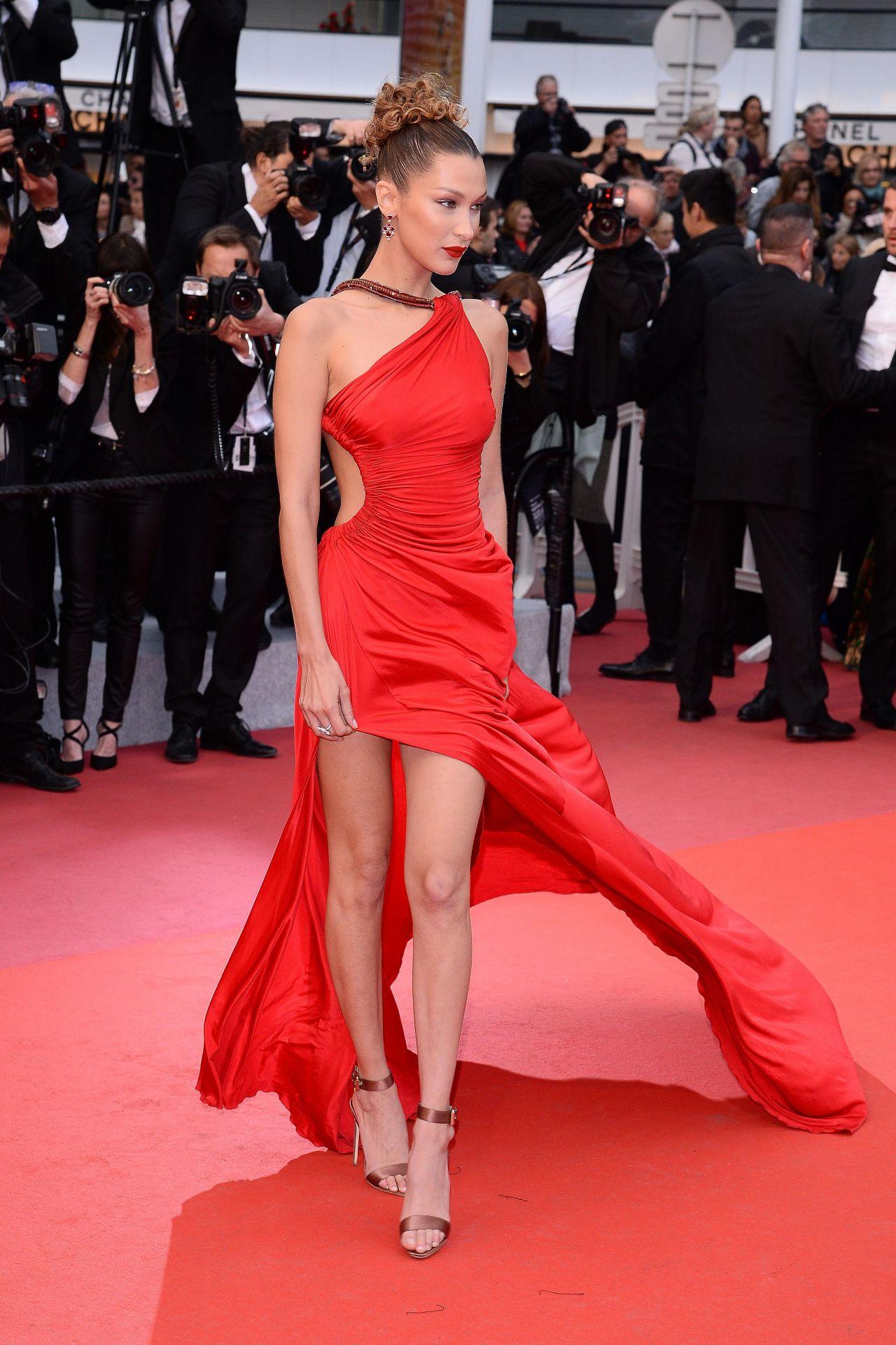 Bella Hadid Quot Dolor Y Gloria Quot Red Carpet At Cannes Film