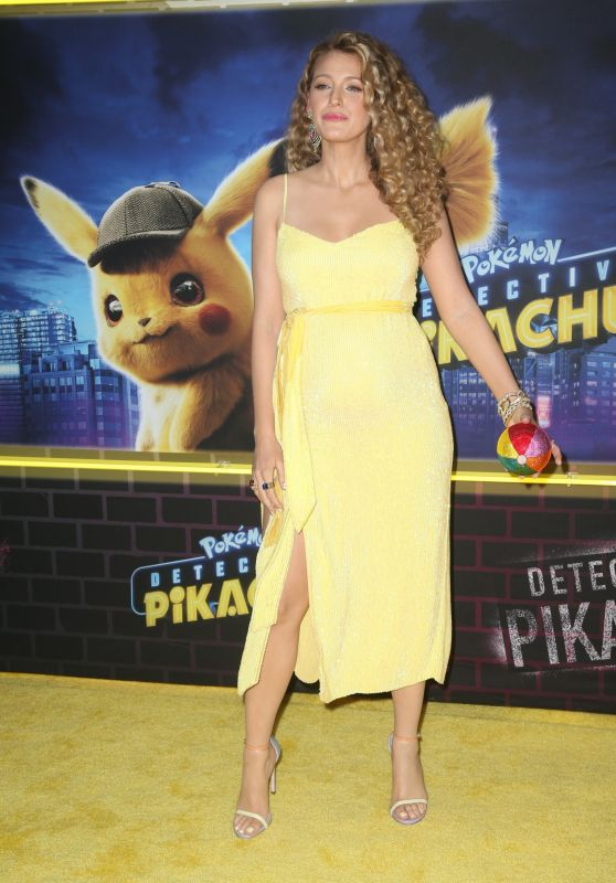 "Blake Lively - ""Pokemon Detective Pikachu"" Premiere in New York"