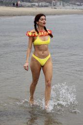 Blanca Blanco in a Bikini - Beach in Malibu 04/30/2019