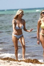 Bre Tiesi and Khloe Terae in Bikinis on the Beach in Miami 05/29/2019