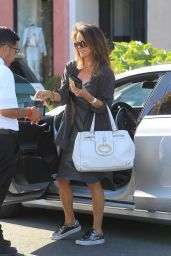 Brooke Burke - Leaving a Salon in West Hollywood 05/28/2019