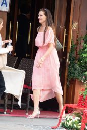 Brooke Shields at Nello Restaurant in NYC 05/24/2019