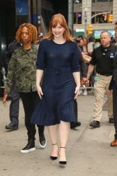 Bryce Dallas Howard - Arriving at GMA in NYC 05/28/2019