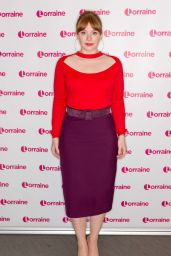 Bryce Dallas Howard at The Lorraine TV Show in London 05/20/2019