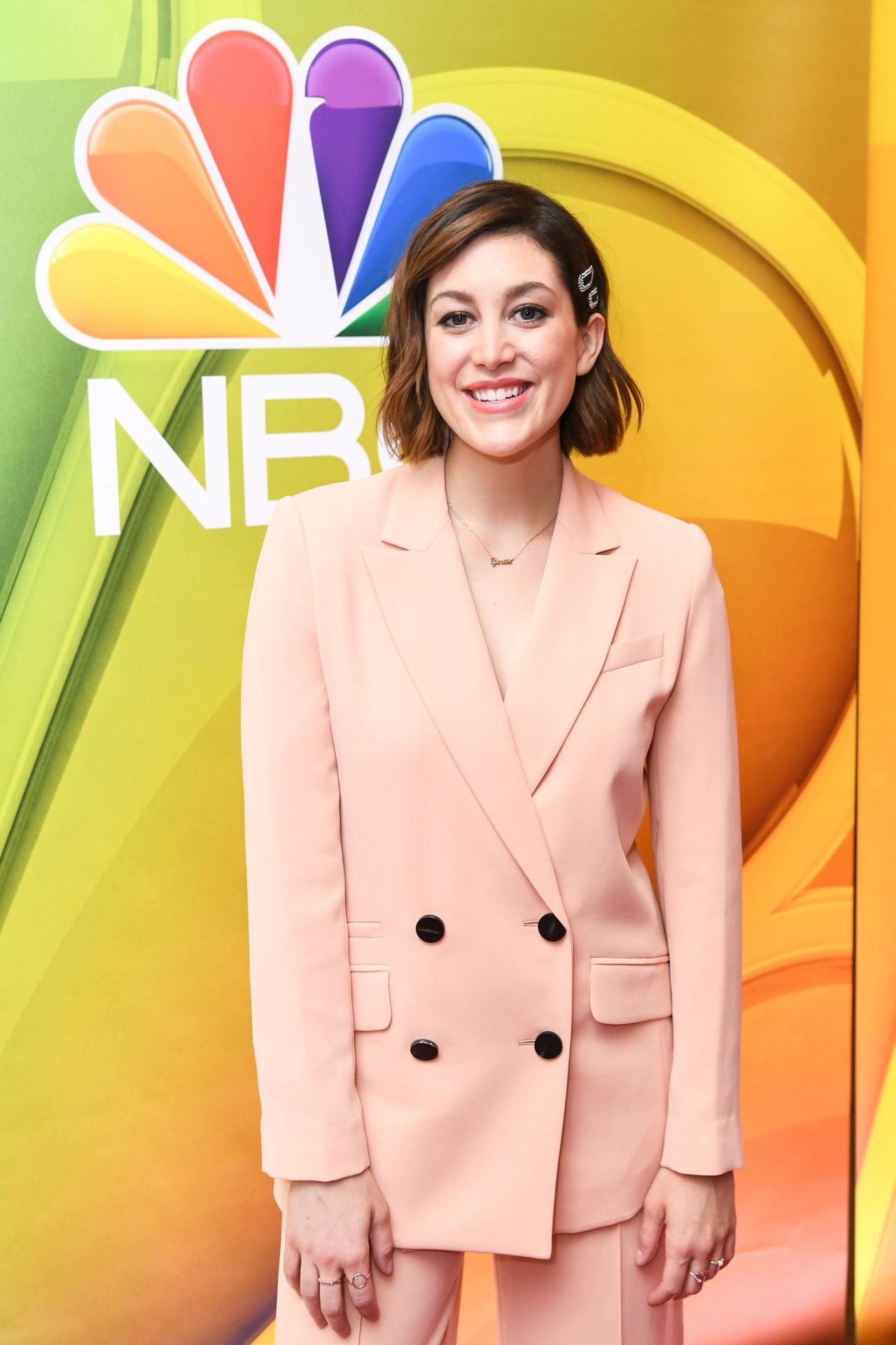 Caitlin Mcgee Nbcuniversal Upfront Presentation In Nyc 5