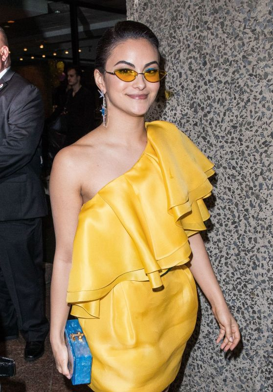 Camila Mendes – Outside Gucci Met Gala After Party 05/06/2019