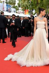 "Camila Morrone – ""Once Upon a Time in Hollywood"" Red Carpet at Cannes Film Festival"