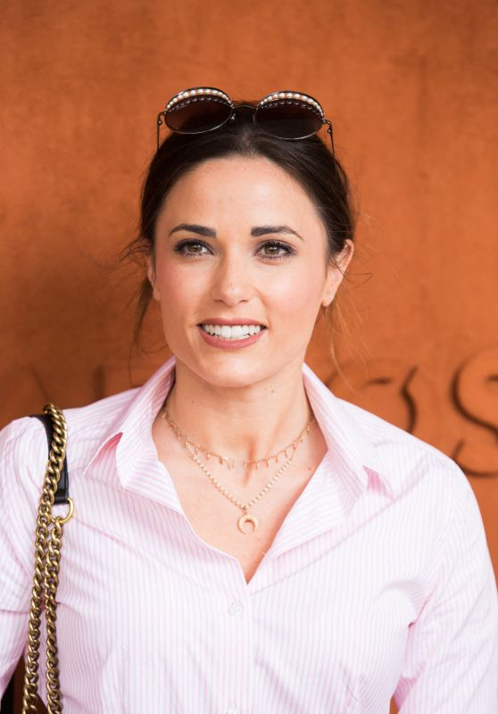 Capucine Anav - Roland-Garros French Tennis Open Day 3 in Paris 05/28/2019