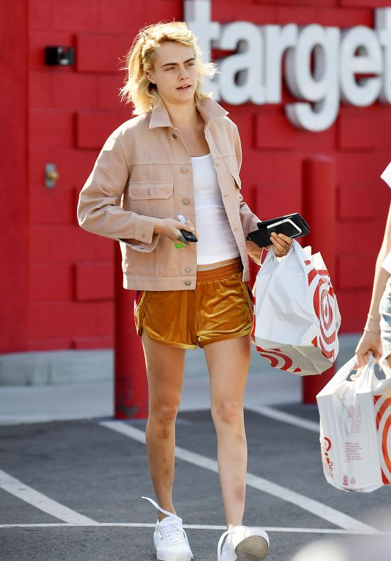 Cara Delevingne - Leaving Discount Store Target in Hollywood 05/28/2019