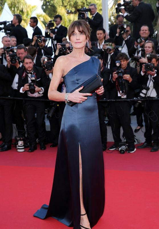 "Carla Bruni-Sarkozy – ""Les Miserables"" Red Carpet at Cannes Film Festival"