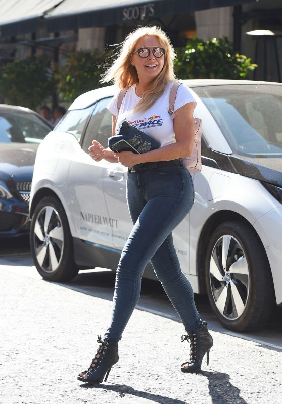 Carol Vorderman at Trendy Scott