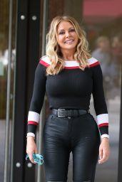 Carol Vorderman - Outside the ITV Studios in London 05/28/2019