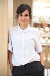 Carolina Sanin - Litigante Photocall at Plage Nespresso at the 72nd Cannes Film Festival