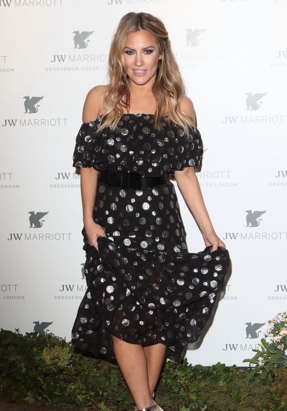Caroline Flack – JW Marriott Grosvenor House 90th Anniversary Party in London 04/30/2019