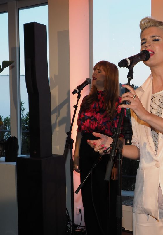 Cécile Cassel - Performing at Cannes Film Festival 2019