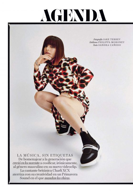 Charli XCX - Vogue Spain June 2019 Issue
