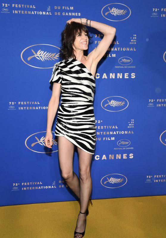 Charlotte Gainsbourg – Gala Dinner at Cannes Film Festival 05/14/2019