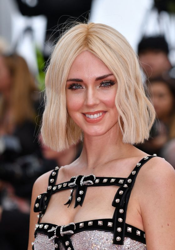 "Chiara Ferragni – ""Once Upon a Time in Hollywood"" Red Carpet at Cannes Film Festival"