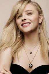 Chloe Grace Moretz and Sophie Turner - Louis Vuitton's New Jewellery Campaign, May 2019