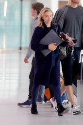 Chloe Grace Moretz - Newark Airport in New York 05/02/2019