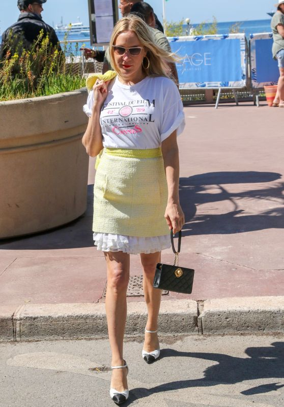 Chloe Sevigny on the Croisette in Cannes 05/16/2019