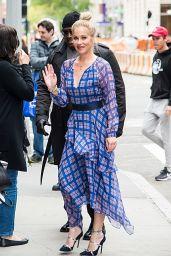 Christina Applegate - Arrives at BUILD Studio in New York City 05/01/2019