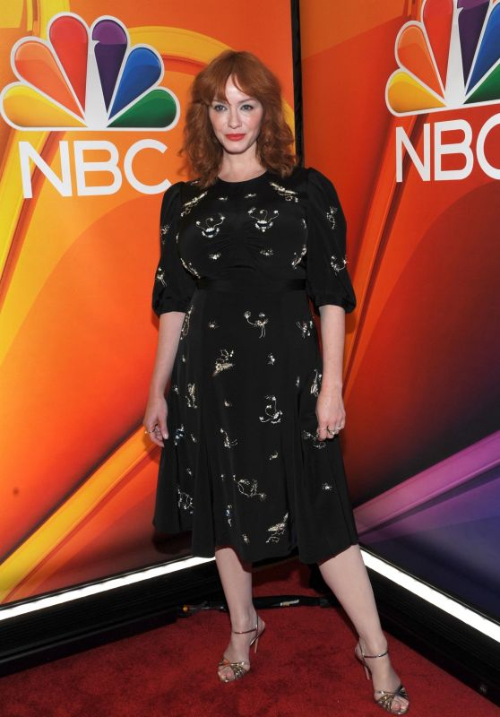 Christina Hendricks – NBCUniversal Upfront Presentation in NYC 5/13/2019