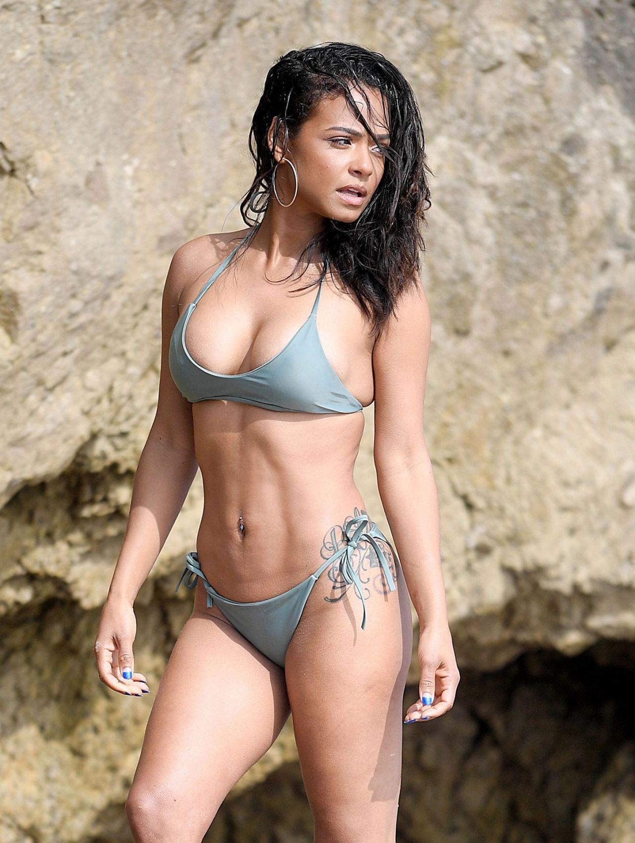 Christina Milian - Bikini Photoshoot In Malibu 05152019-4892