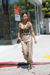 Christina Milian Street Style - West Hollywood 05/28/2019