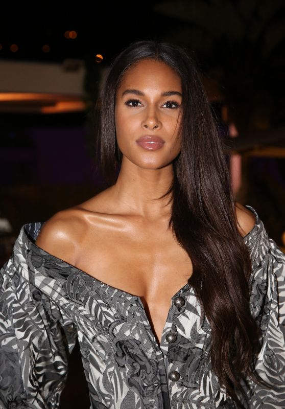 Cindy Bruna - Conscious Creative Dinner with Petra Nemcova and Benjamin Larretche in Cannes 05/20/2019
