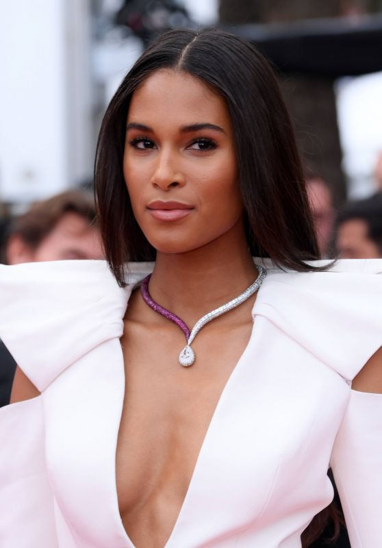 "Cindy Bruna – ""La Belle Epoque"" Red Carpet at Cannes Film Festival"