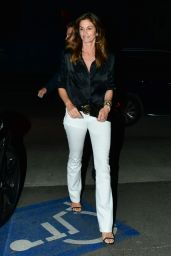 Cindy Crawford Night Out Style - Santa Monica 05/25/2019