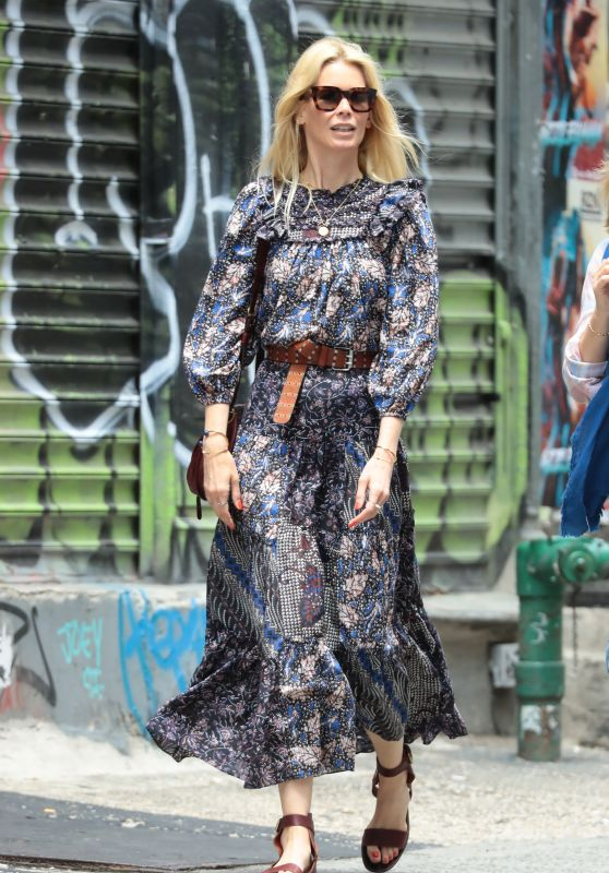 Claudia Schiffer Street Style - NYC 05/30/2019