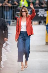 Cobie Smulders - Arriving at Jimmy Kimmel Live! 05/09/2019