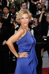 """Corinne Touzet - """"The Traitor"""" Red Carpet at Cannes Film Festival"""