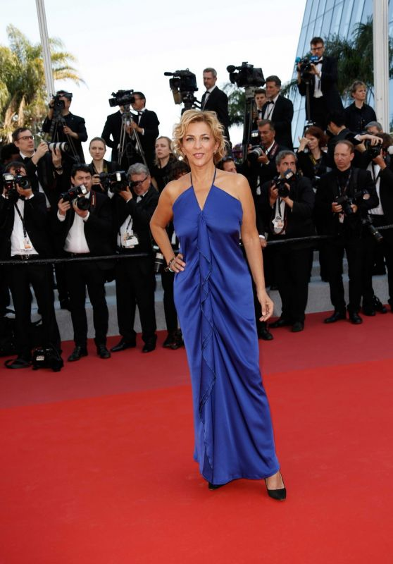 "Corinne Touzet - ""The Traitor"" Red Carpet at Cannes Film Festival"