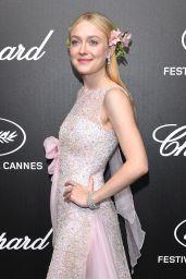 Dakota Fanning - Official Trophée Chopard Dinner Photocall in Cannes 05/20/2019