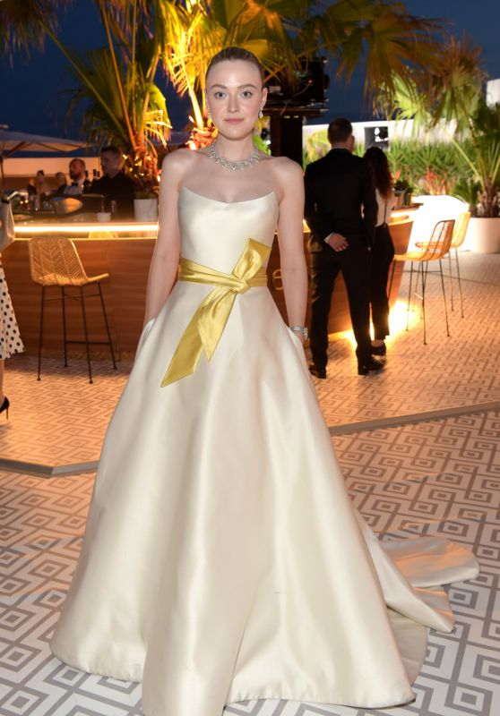 """Dakota Fanning - """"Once Upon a Time in Hollywood"""" After Party in Cannes 05/21/2019"""