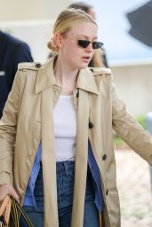 Dakota Fanning - Outside the Martinez Hotel in Cannes 05/22/2019