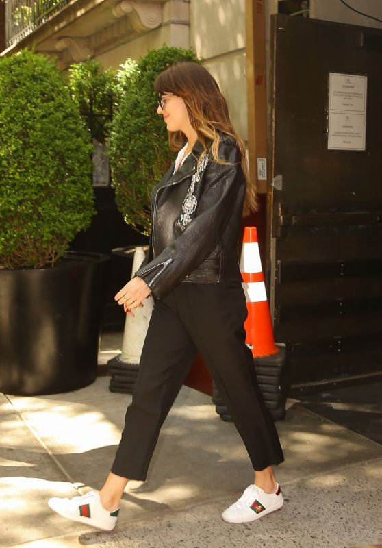 Dakota Jonhson - Leaving Her Hotel in NY 05/06/2019